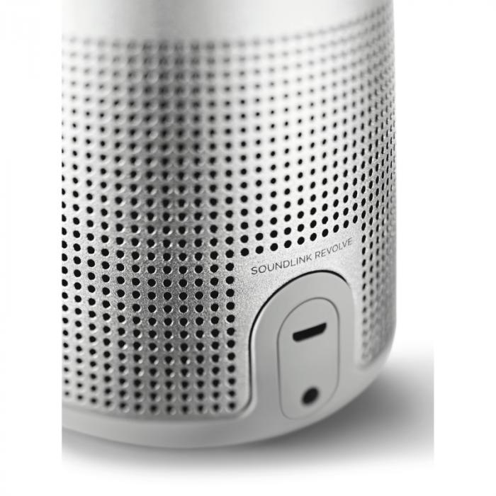 Boxa Bluetooth Bose SoundLink Revolve II Silver, 858365-2310 3