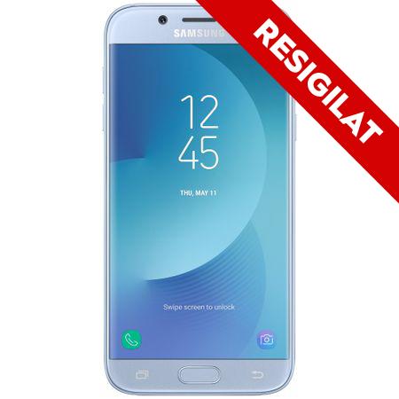 Telefon mobil Samsung Galaxy J5 (2017), Dual Sim, 16GB, 4G, Blue Silver (SM-J530FZSDROM)