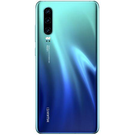 Telefon mobil Huawei P30, Dual SIM, 128GB, 6GB RAM, 4G, Aurora Blue 2