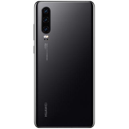 Telefon mobil Huawei P30, Dual SIM, 128GB, 6GB RAM, 4G, Midnight Black 2