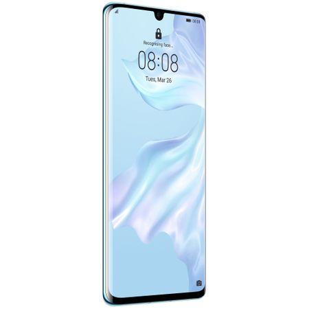 Telefon mobil Huawei P30 Pro, Dual SIM, 128GB, 6GB RAM, 4G, Breathing Crystal 2