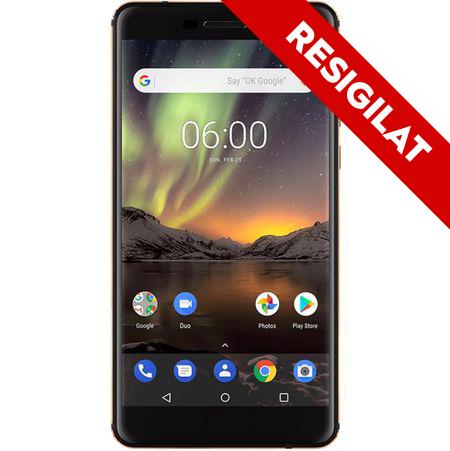 Telefon mobil Nokia 6.1 (2018), Dual SIM, 32GB, 4G, Black (11PL2B01A07) 0