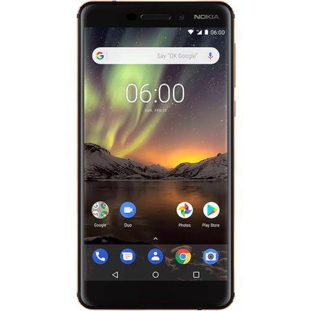 Telefon mobil Nokia 6.1 (2018), Dual SIM, 32GB, 4G, Black (11PL2B01A07) 1