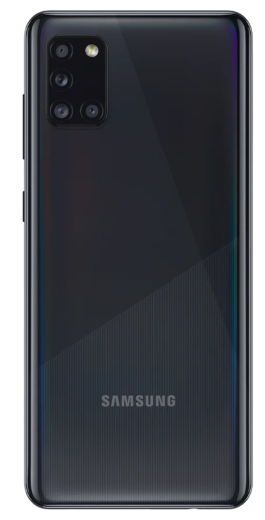 Telefon mobil Samsung Galaxy A31 (A315FD), Dual SIM, 128GB, 4GB RAM, 4G, Black, SM-A315GZKUEUE 1