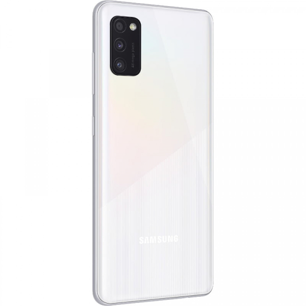 Telefon mobil Samsung Galaxy A41, Dual SIM, 64GB, 4G, Prism Crush White, SM-A415FZWDEUE 3