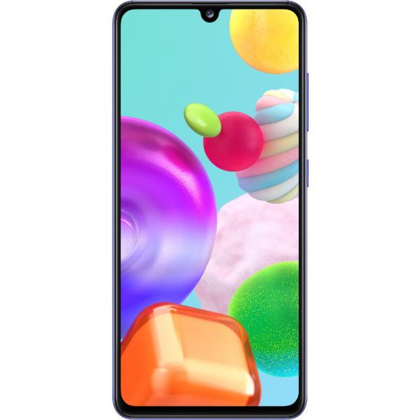 Telefon mobil Samsung Galaxy A41, Dual SIM, 64GB, 4G, Prism Crush Blue, SM-A415FZBDEUE 0