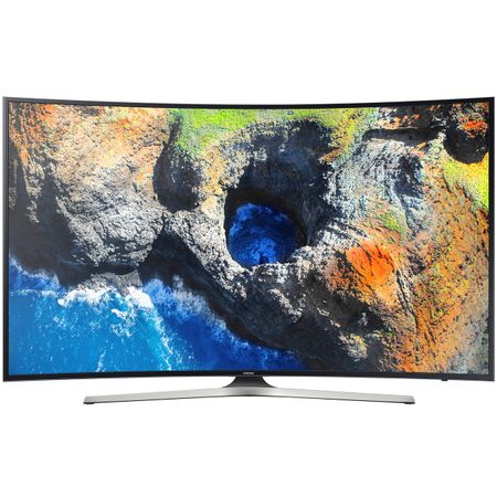 Televizor LED Curbat Smart Samsung, 163 cm, 65MU6222, 4K Ultra HD 0