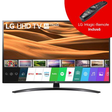 Televizor LED Smart LG, 108 cm, 43UM7450PLA, 4K Ultra HD 0