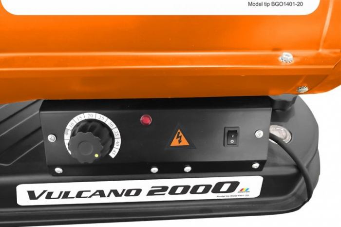 Tun de aer cald cu ardere directa RURIS Vulcano 2000 1