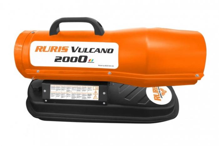 Tun de aer cald cu ardere directa RURIS Vulcano 2000 3