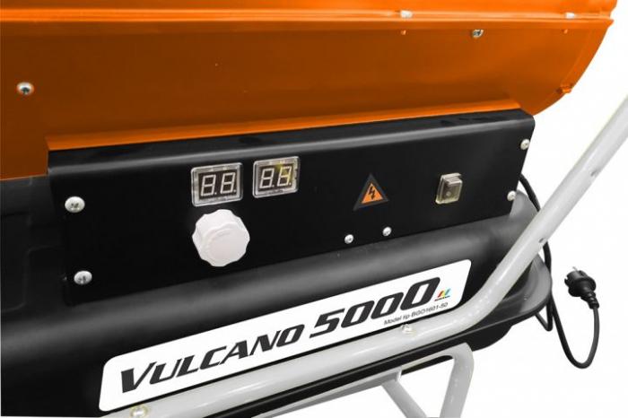 Tun de aer cald cu ardere directa RURIS Vulcano 5000 1