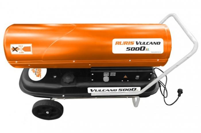 Tun de aer cald cu ardere directa RURIS Vulcano 5000 3