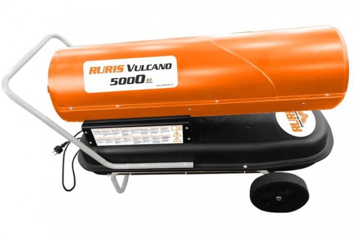 Tun de aer cald cu ardere directa RURIS Vulcano 5000 4