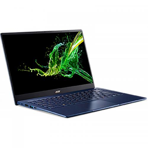 Laptop Ultrabook Acer Swift 5 SF514-54T, Intel Core i7-1065G7, 14inch Touch, RAM 16GB, SSD 512GB, Intel Iris Plus Graphics, Windows 10 Pro, Charcoal Blue (NX.HHYEX.007) 2