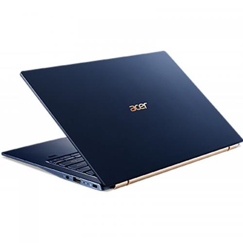 Laptop Ultrabook Acer Swift 5 SF514-54T, Intel Core i7-1065G7, 14inch Touch, RAM 16GB, SSD 512GB, Intel Iris Plus Graphics, Windows 10 Pro, Charcoal Blue (NX.HHYEX.007) 4