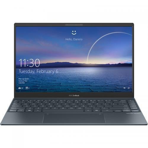 Ultrabook Asus ZenBook 13 UX325EA-KG255T, Intel Core i7-1165G7, 13.3inch, RAM 16GB, SSD 512GB, Intel Iris Xe Graphics, Windows 10, Pine Grey 0