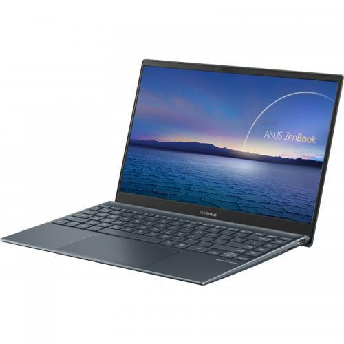Ultrabook Asus ZenBook 13 UX325EA-KG255T, Intel Core i7-1165G7, 13.3inch, RAM 16GB, SSD 512GB, Intel Iris Xe Graphics, Windows 10, Pine Grey [4]