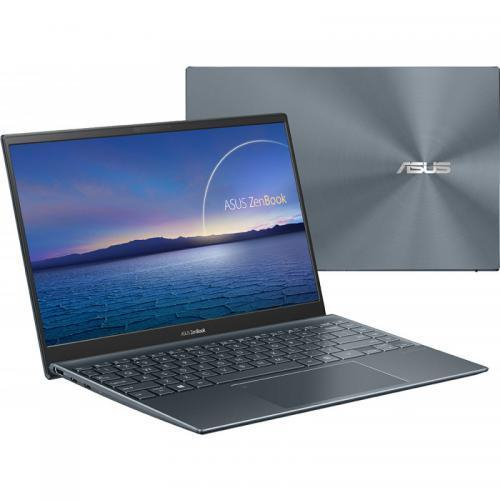 Ultrabook ASUS ZenBook 14 UM425IA-AM035R, AMD Ryzen 7 4700U, 14inch, RAM 8GB, SSD 512 GB, AMD Radeon Graphics RX Vega 7, Windows 10 Pro, Pine Grey 5