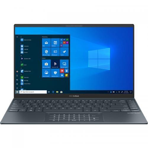 Ultrabook ASUS ZenBook 14 UM425IA-AM035R, AMD Ryzen 7 4700U, 14inch, RAM 8GB, SSD 512 GB, AMD Radeon Graphics RX Vega 7, Windows 10 Pro, Pine Grey 0