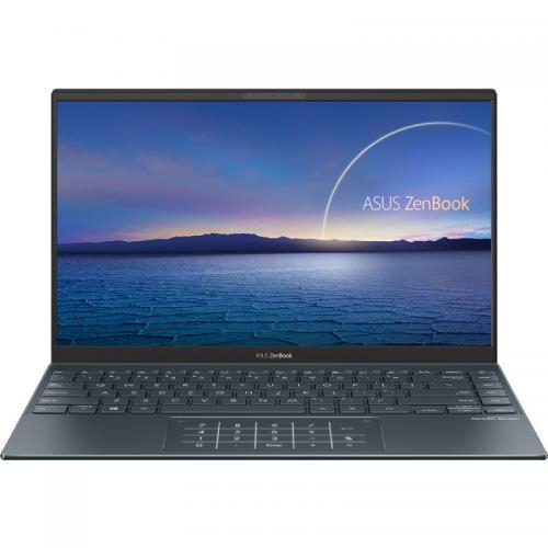 Ultrabook ASUS ZenBook 14 UM425IA-AM035R, AMD Ryzen 7 4700U, 14inch, RAM 8GB, SSD 512 GB, AMD Radeon Graphics RX Vega 7, Windows 10 Pro, Pine Grey 1