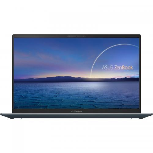 Ultrabook ASUS ZenBook 14 UX425EA-BM082, Intel Core i5-1135G7, 14inch, RAM 8GB, SSD 1TB, Intel Iris Xe Graphics, No OS, Pine Grey [0]