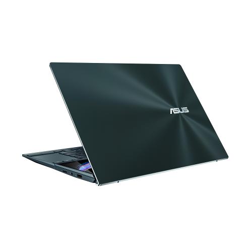 Ultrabook ASUS ZenBook Duo 14 UX482EA-HY024R, Intel Core i5-1135G7, 14inch Touch, RAM 8GB, SSD 512GB, Intel Iris Xe Graphics, Windows 10 Pro, Celestial Blue 6