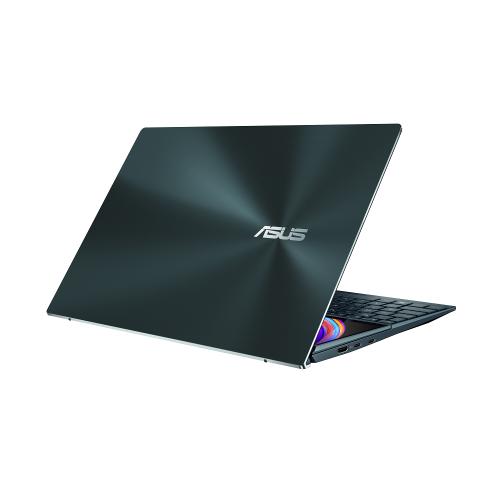 Ultrabook ASUS ZenBook Duo 14 UX482EA-HY024R, Intel Core i5-1135G7, 14inch Touch, RAM 8GB, SSD 512GB, Intel Iris Xe Graphics, Windows 10 Pro, Celestial Blue 7
