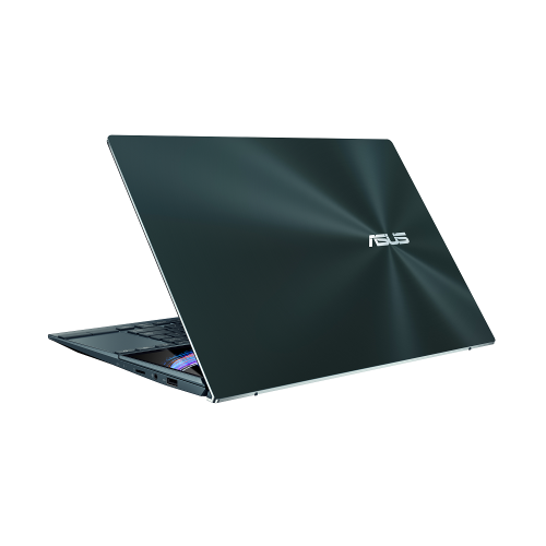 Ultrabook ASUS ZenBook Duo 14 UX482EA-HY026R, Intel Core i5-1135G7, 14inch Touch, RAM 8GB, SSD 512GB, Intel Iris Xe Graphics, Windows 10 Pro, Celestial Blue 8