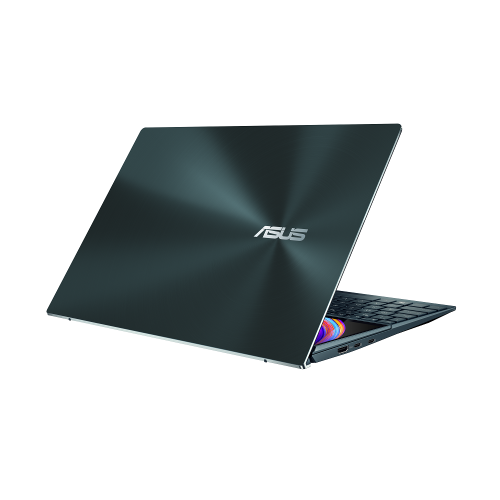 Ultrabook ASUS ZenBook Duo 14 UX482EA-HY026R, Intel Core i5-1135G7, 14inch Touch, RAM 8GB, SSD 512GB, Intel Iris Xe Graphics, Windows 10 Pro, Celestial Blue 7