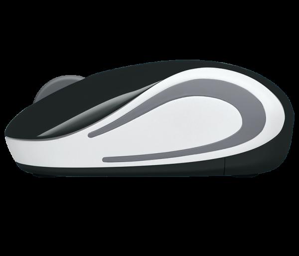 Mouse Wireless Logitech M187, USB, Negru, 910-002731 2