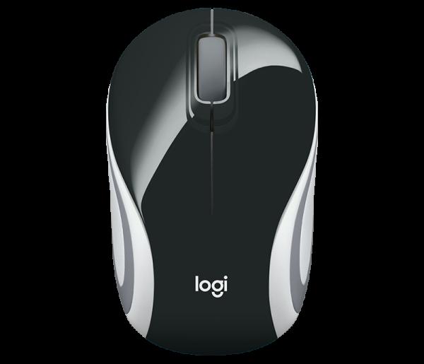 Mouse Wireless Logitech M187, USB, Negru, 910-002731 3