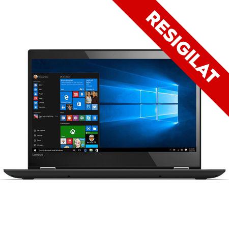 "Laptop 2 in 1 Lenovo Yoga 520-14IKB cu procesor Intel® Core™ i3-7130U 2.70 GHz, Kaby Lake, 14"", Full HD, IPS, Touch, 8GB, 1TB + 128GB SSD, Intel HD Graphics 620, Microsoft Windows 10, ONYX Black 0"