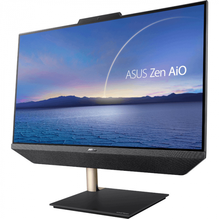 Sistem All-In-One PC ASUS Zen E5401WRAK-BA039R, 23.8 inch FHD, Procesor Intel® Core™ i5-10500T 2.3GHz Comet Lake, 16GB RAM, 512GB SSD, UHD 630, Camera Web, Windows 10 Pro [1]