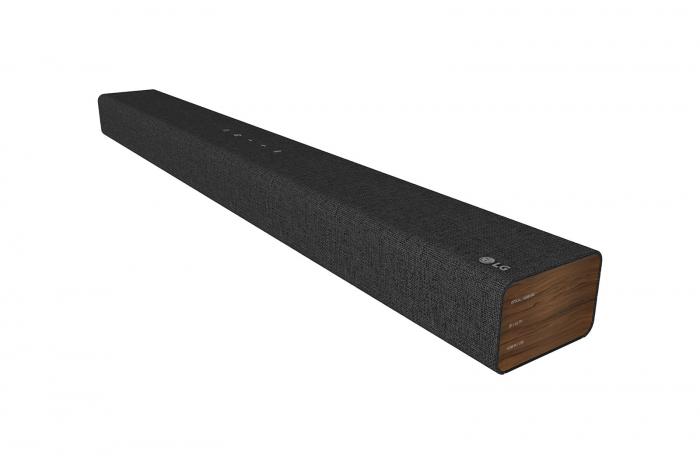 Soundbar LG SP2, 100W, 2.1, Bluetooth, Subwoofer integrat, Negru [4]