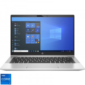 Laptop HP 13.3'' ProBook 430 G8, FHD, Procesor Intel® Core™ i7-1165G7 (12M Cache, up to 4.70 GHz, with IPU), 8GB DDR4, 256GB SSD, Intel Iris Xe, Win 10 Pro, Silver, 203F6EA [1]