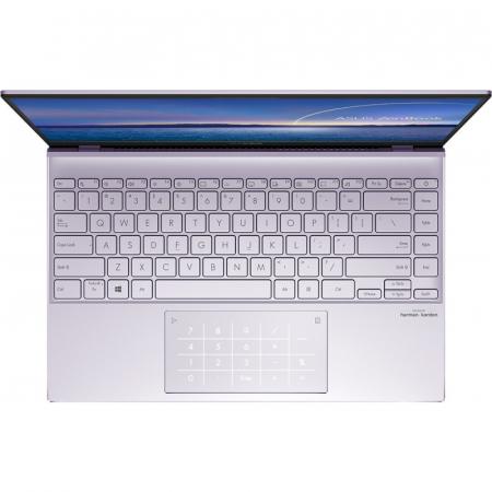 Ultrabook ASUS ZenBook 14 UM425IA-AM036, AMD Ryzen 7 4700U, 14inch, RAM 8GB, SSD 512GB, AMD Radeon Graphics, No OS, Violet [0]
