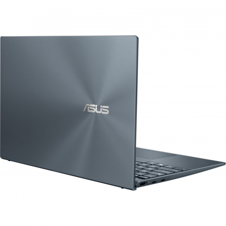 Ultrabook ASUS 14'' ZenBook 14 UX425EA-KI391T, FHD, Procesor Intel® Core™ i5-1135G7 (8M Cache, up to 4.20 GHz), 16GB DDR4X, 512GB SSD, Intel Iris Xe, Win 10 Home, Pine Grey [11]