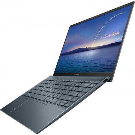 Ultrabook ASUS 14'' ZenBook 14 UX425EA-KI391T, FHD, Procesor Intel® Core™ i5-1135G7 (8M Cache, up to 4.20 GHz), 16GB DDR4X, 512GB SSD, Intel Iris Xe, Win 10 Home, Pine Grey [6]