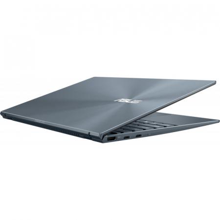 Ultrabook ASUS 14'' ZenBook 14 UX425EA-KI391T, FHD, Procesor Intel® Core™ i5-1135G7 (8M Cache, up to 4.20 GHz), 16GB DDR4X, 512GB SSD, Intel Iris Xe, Win 10 Home, Pine Grey [10]