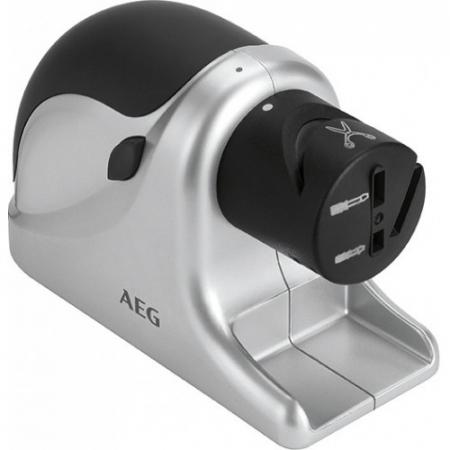 Aparat electric de ascutit cutite AEG MSS 5572, 60 W, Negru/Argintiu [0]