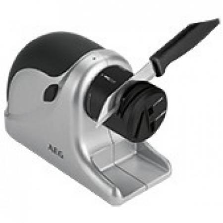 Aparat electric de ascutit cutite AEG MSS 5572, 60 W, Negru/Argintiu [1]