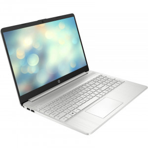 Laptop HP 15.6'' 15s-fq1708nd, FHD, Procesor Intel® Core™ i5-1035G1 (6M Cache, up to 3.60 GHz), 8GB DDR4, 256GB SSD, GMA UHD, Win 10 Home, Silver, 1E6W6EA2