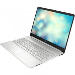 Laptop HP 15.6'' 15s-fq1708nd, FHD, Procesor Intel® Core™ i5-1035G1 (6M Cache, up to 3.60 GHz), 8GB DDR4, 256GB SSD, GMA UHD, Win 10 Home, Silver, 1E6W6EA3