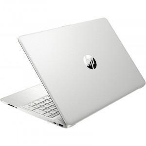Laptop HP 15.6'' 15s-fq1708nd, FHD, Procesor Intel® Core™ i5-1035G1 (6M Cache, up to 3.60 GHz), 8GB DDR4, 256GB SSD, GMA UHD, Win 10 Home, Silver, 1E6W6EA6
