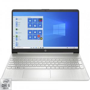 Laptop HP 15.6'' 15s-fq1708nd, FHD, Procesor Intel® Core™ i5-1035G1 (6M Cache, up to 3.60 GHz), 8GB DDR4, 256GB SSD, GMA UHD, Win 10 Home, Silver, 1E6W6EA [0]