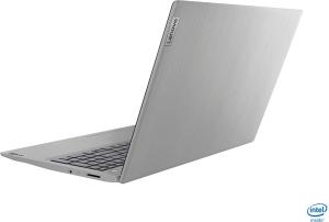 "Laptop Lenovo - IdeaPad 3 Intel Core i3-1005G1, 15,6"", 8GB RAM, 256GB SSD, Windows 10, Platinum Grey, 81WE011UUS5"