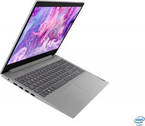 "Resigilat - Laptop Lenovo - IdeaPad 3 Intel Core i3-1005G1, 15,6"", 8GB RAM, 256GB SSD, Windows 10, Platinum Grey, 81WE011UUS1"