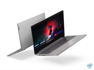 "Laptop Lenovo - IdeaPad 3 Intel Core i3-1005G1, 15,6"", 8GB RAM, 256GB SSD, Windows 10, Platinum Grey, 81WE011UUS6"