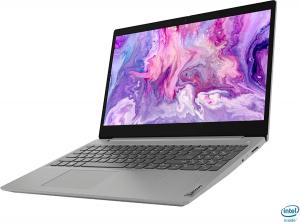 "Resigilat - Laptop Lenovo - IdeaPad 3 Intel Core i3-1005G1, 15,6"", 8GB RAM, 256GB SSD, Windows 10, Platinum Grey, 81WE011UUS2"