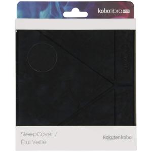 Husa de protectie Kobo Libra H2O Sleep Cover, negru, N873-AC-BK-E-PU [3]